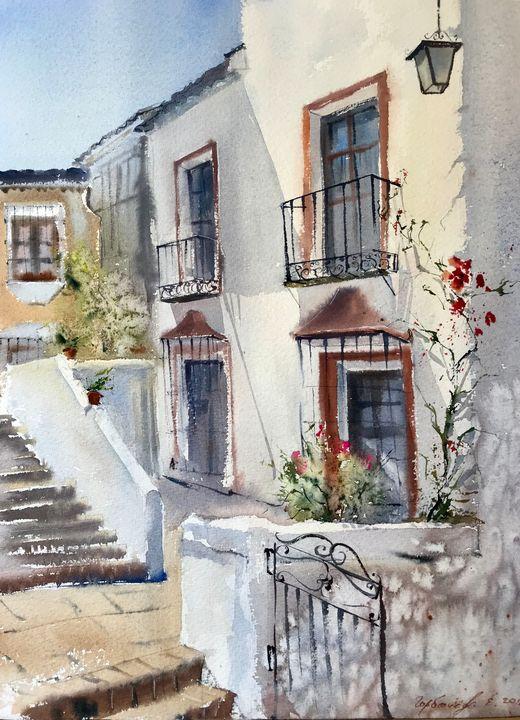 Street in Marbella, Spain - Eugenia Gorbacheva