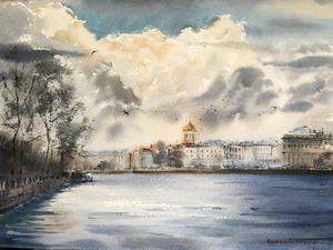 The Neva river, St. Petersburg, No 2