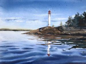 Lighthouse, Kronstadt