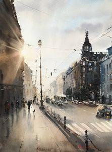 Singer House, Nevsky Prospect, St. P