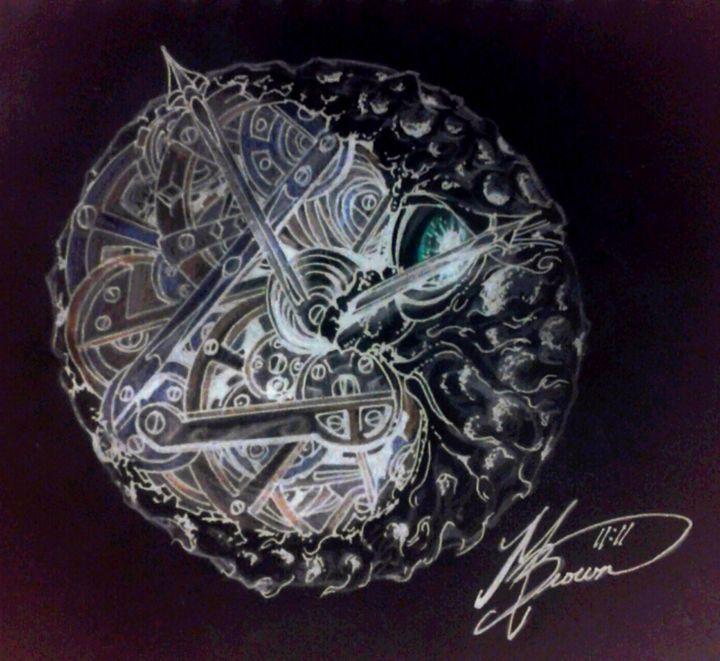 Mechanical Negatif Moon - Peanut Gallery