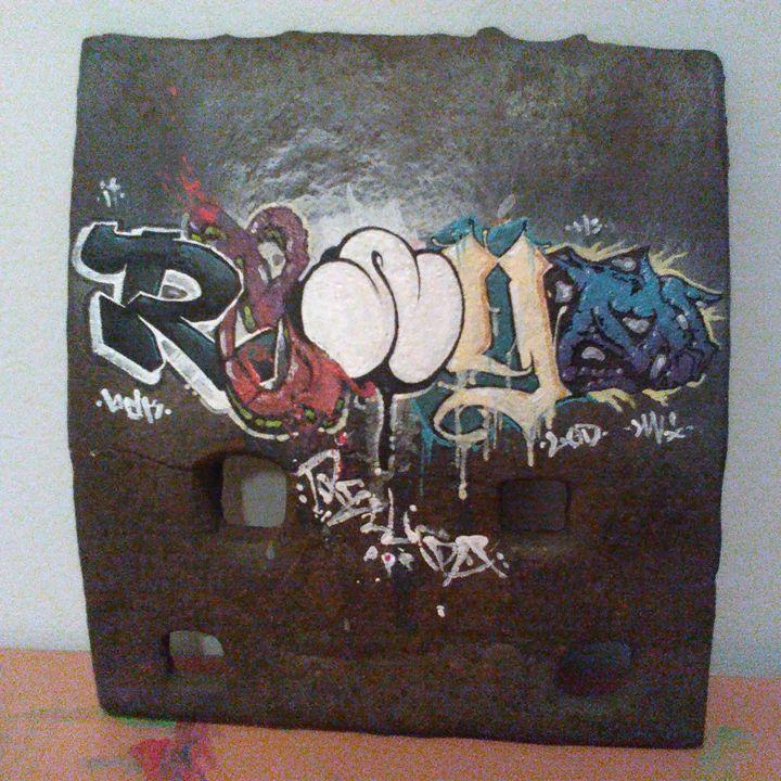 untitled (graffiti) - Z.R.Loscar