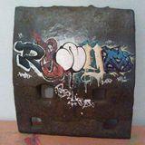 hand painted graffiti