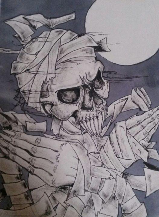 Moonlit Pharaoh - Z.R.Loscar