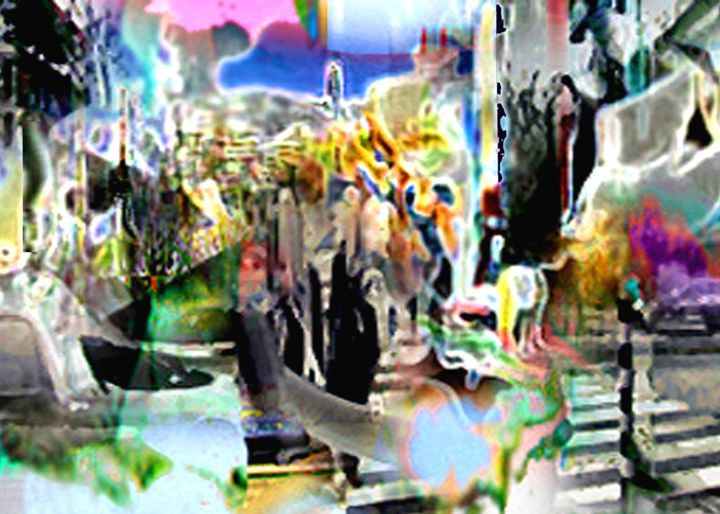 Streetparty - Digital Paintings