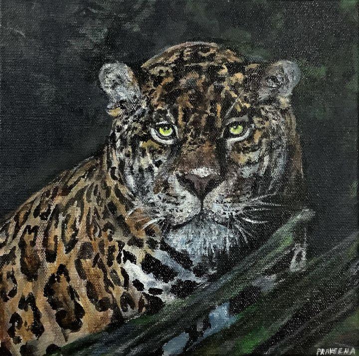 Acrylic Jaguar - Praveena Prabhakaran