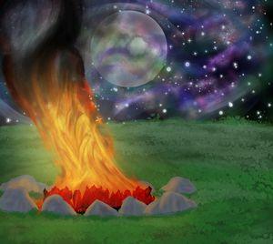 Midnight Bonfire