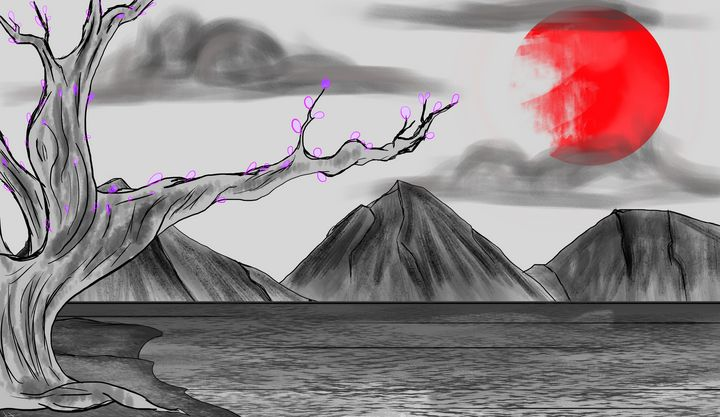 Oriental Bloodsun - Azelrix's Universe