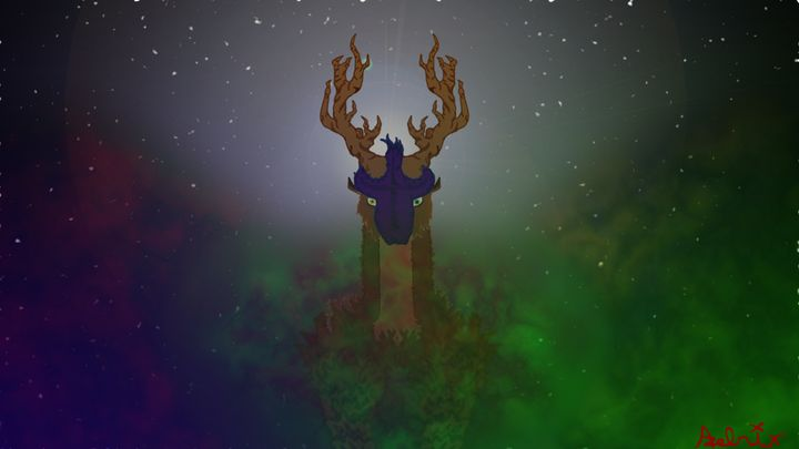 Galactic Stag - Azelrix's Universe