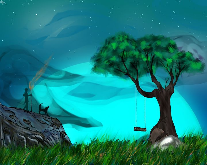 Turquoise Night - Azelrix's Universe