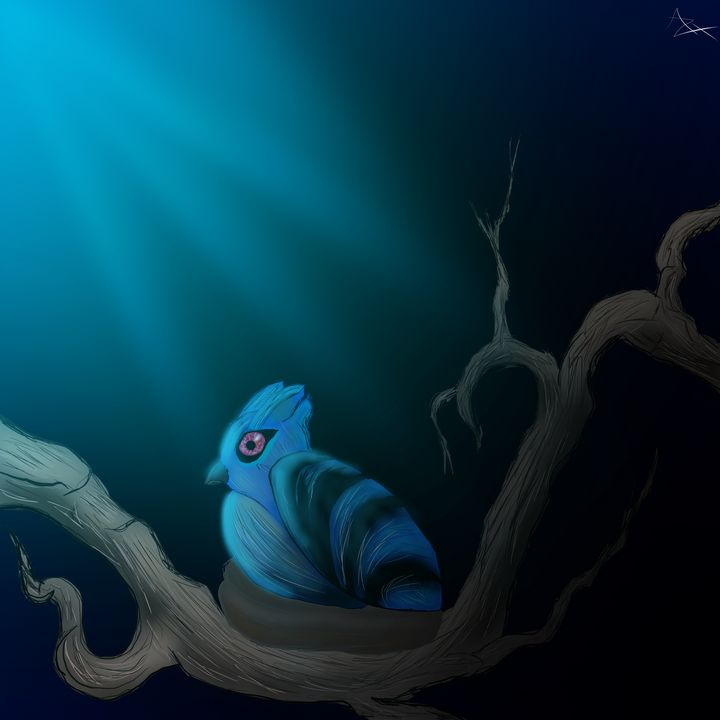 Cobalt Feather - Azelrix's Universe