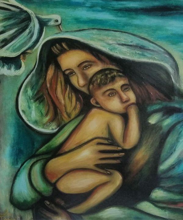 sensibilita'e'pace - dipinti e'sculture d'autore