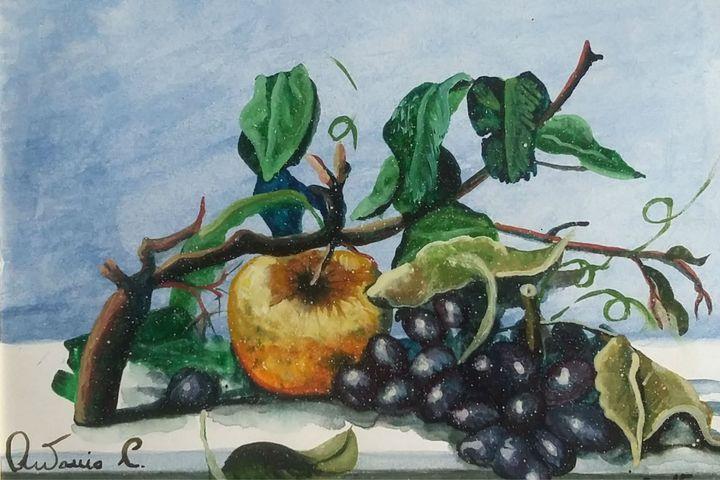 mela e'uva - dipinti e'sculture d'autore