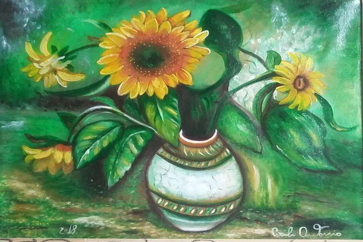 girasoli e'colori - dipinti e'sculture d'autore