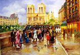 16x12 Rue St. Germain - oil