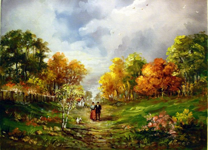 Anne Pascale - Countryside - Colours
