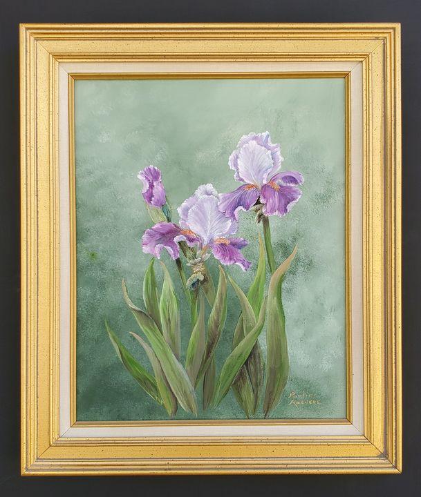 Mauve Iris - Pauline Raedeke