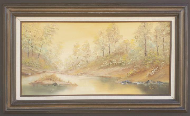 Misty River - Pauline Raedeke
