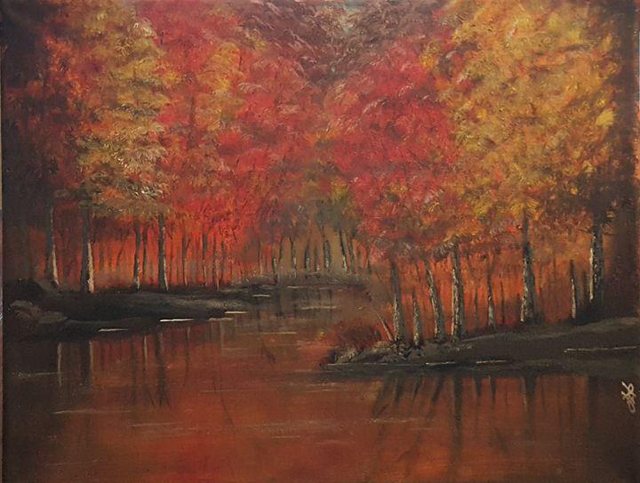 """""""Autumn Reflections"""" - Palette Sense"""