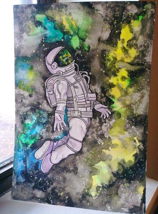 Deep Space - Art By Sam