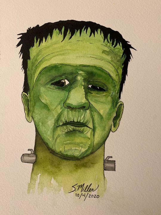 Frankenstein - Art By Sam