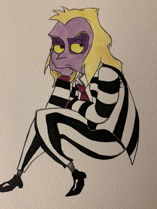 Beetle Juice - Art By Sam