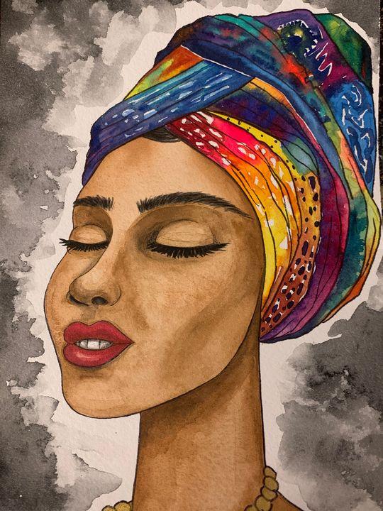 African Queen - Art By Sam
