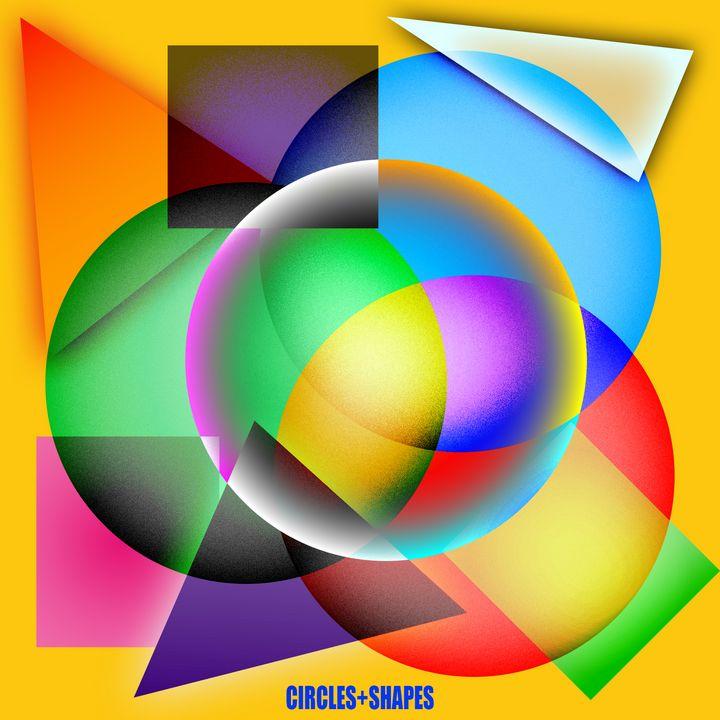 Circles + Shapes - Crooksinblack Art