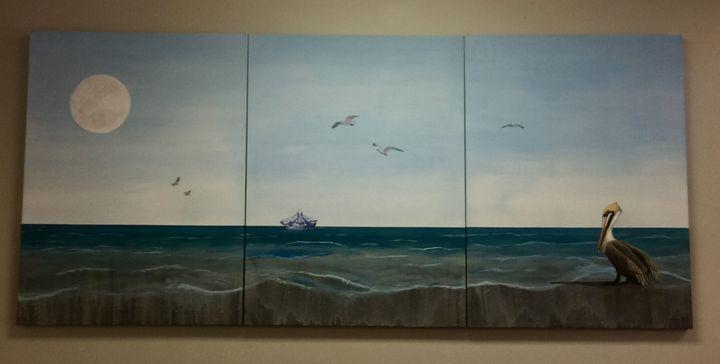 Pelican Moon - Calby's Art