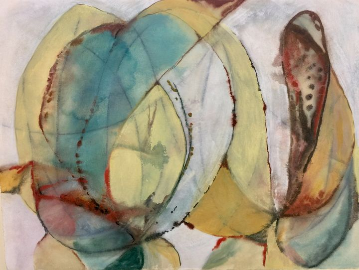 Floral abstract - Calby's Art