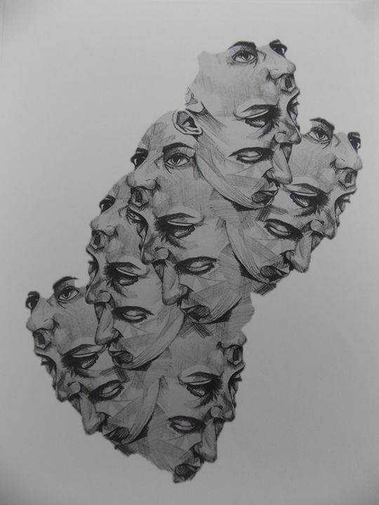 One's Many Faces - Charlotte Gregory