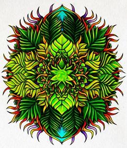 Leafy Mandala