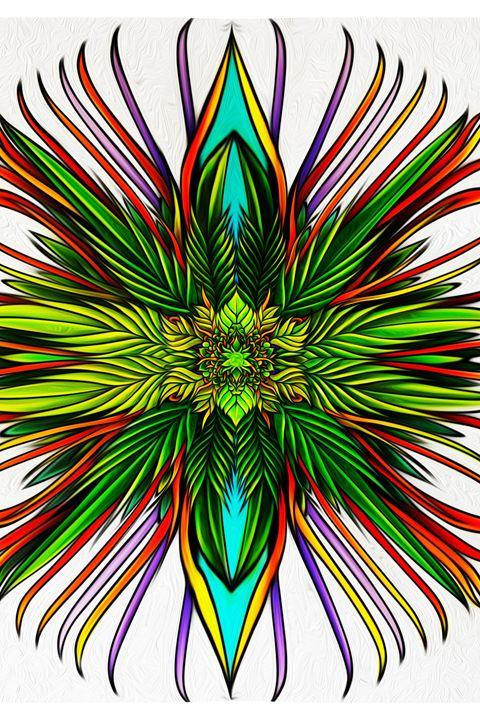 Floral Mandala - Joshua Riley