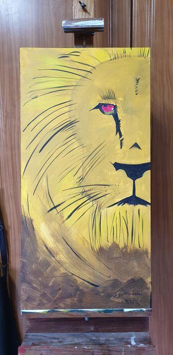 African Lion - Kamal P Timmal