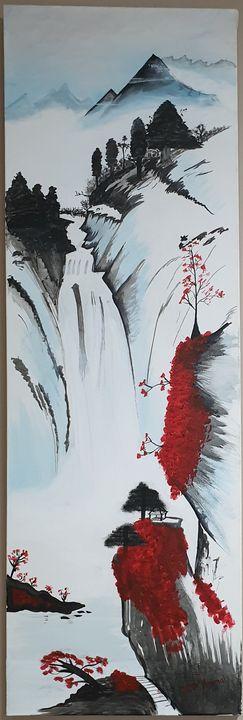 Waterfall - Kamal P Timmal