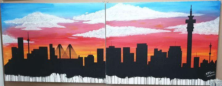 Johannesburg Skyline - Kamal P Timmal