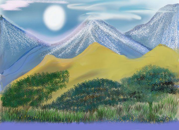 Sand Dunes - Chillax Art