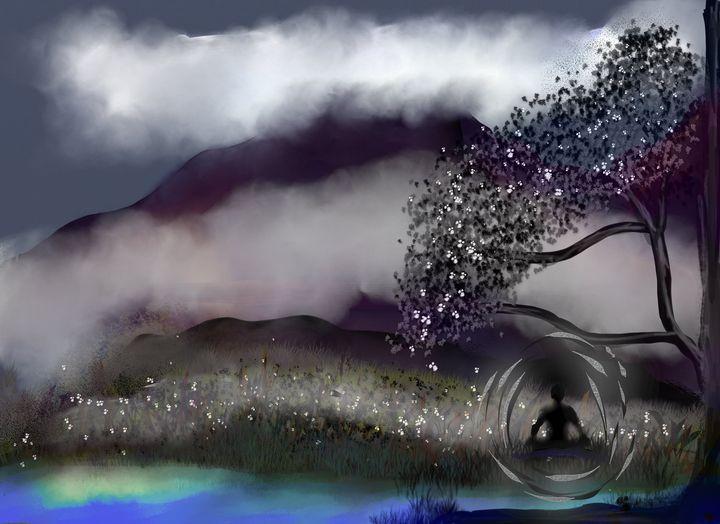 Cloud Tree - Chillax Art