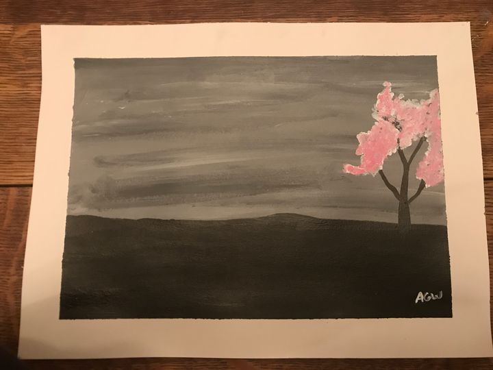 Cherry Blossom - Amber Grace Wolfe