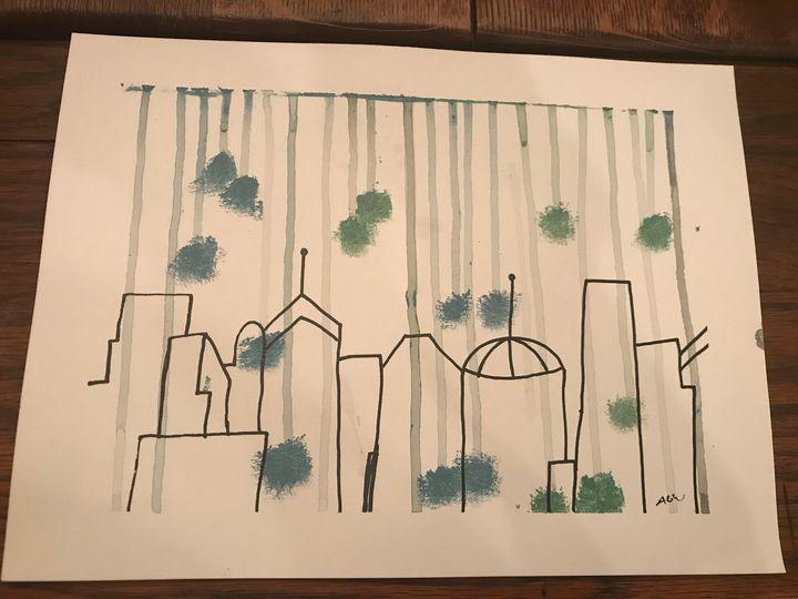 Rainy City - Amber Grace Wolfe