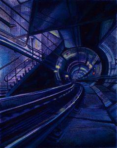 Blue Underground Subway Fantasy
