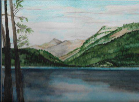 Leadville, Colorado Turquoise lake - Ccrider art