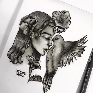 Heavenly bird