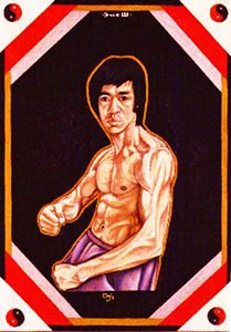 Bruce Lee by Oji