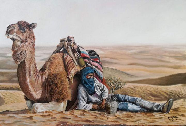The Bearer - Megid Khedhiry Art