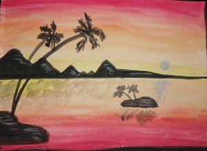 Coastal postcard
