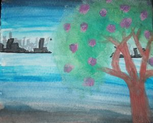 Blossom by the city - Robyn Wheeler
