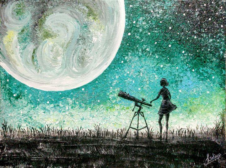 The moon - Lidsart