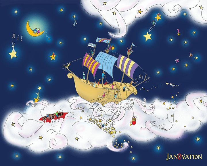 Magical Star Boat Ride - JanOvation