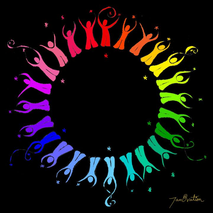 Colorful World of People - JanOvation